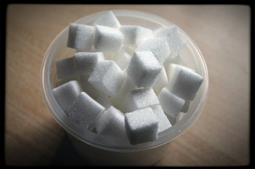 If it helps, think of teaspoons of sugar in terms of sugar cubes. One teaspoon of sugar is roughly one sugar cube.