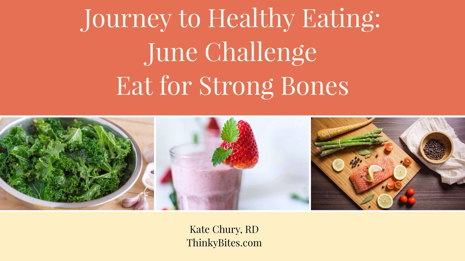 Journey to Healthy Eating 2017 - June Edition