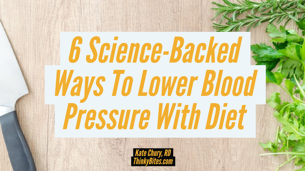 6 Science-Backed Ways To Lower Blood Pressure With Diet