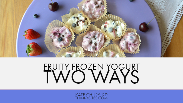 Kate Chury RD Calgary Dietitian Yogurt Treat