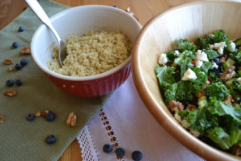 FODMAP salad Calgary Dietitian
