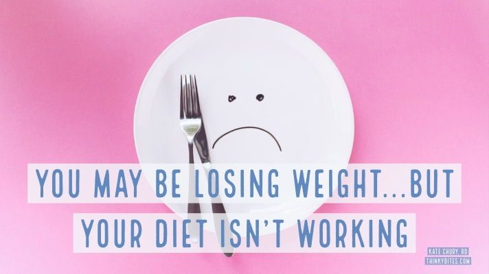 You May Be Losing Weight...But Your Diet Isn't Working.