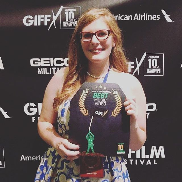 Took home Best Music Video! Thanks to the amazing talents of @themikecorrado #giffx #gifilmfestival #country