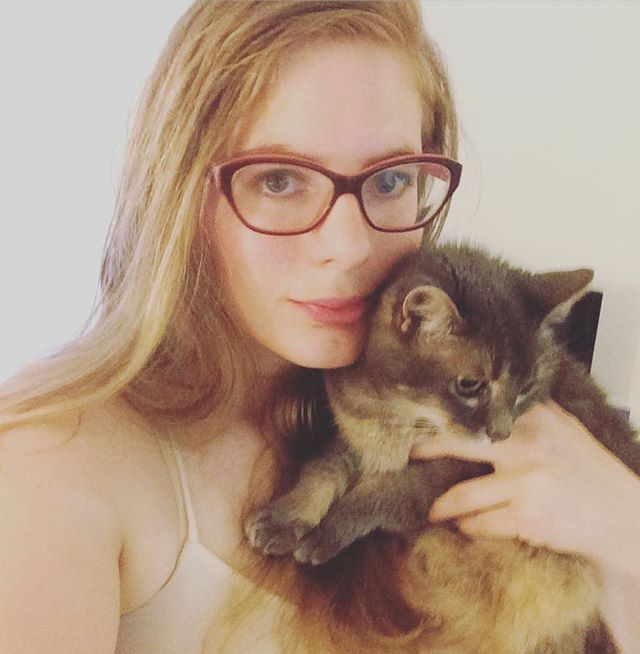 Me and the Bubs! #cats #catlady #catsofig