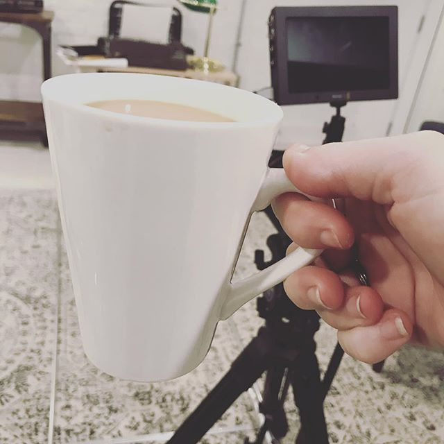 Cup number one. Let's make a #film. #filmmaking #coffee