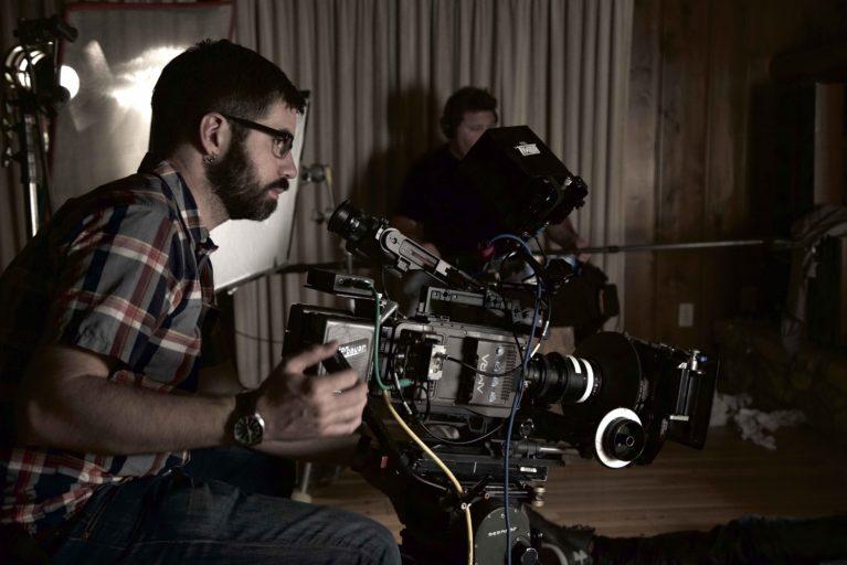 "On the set of ""The Hideout"", Dir. Chandan Gupta, Producer Maninder Saini"