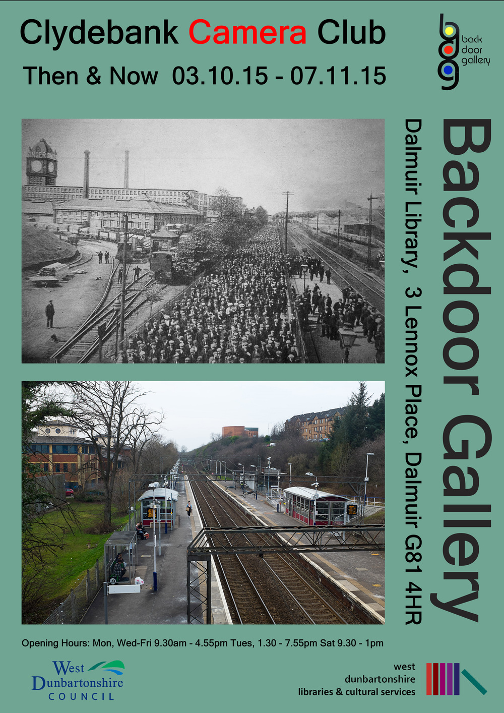 Then & Now - Now on at the Backdoor Gallery, Dalmuir