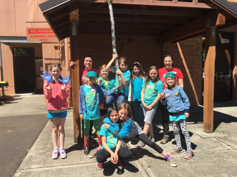 2018 Girl Scout Workshop @ OTI June 2nd