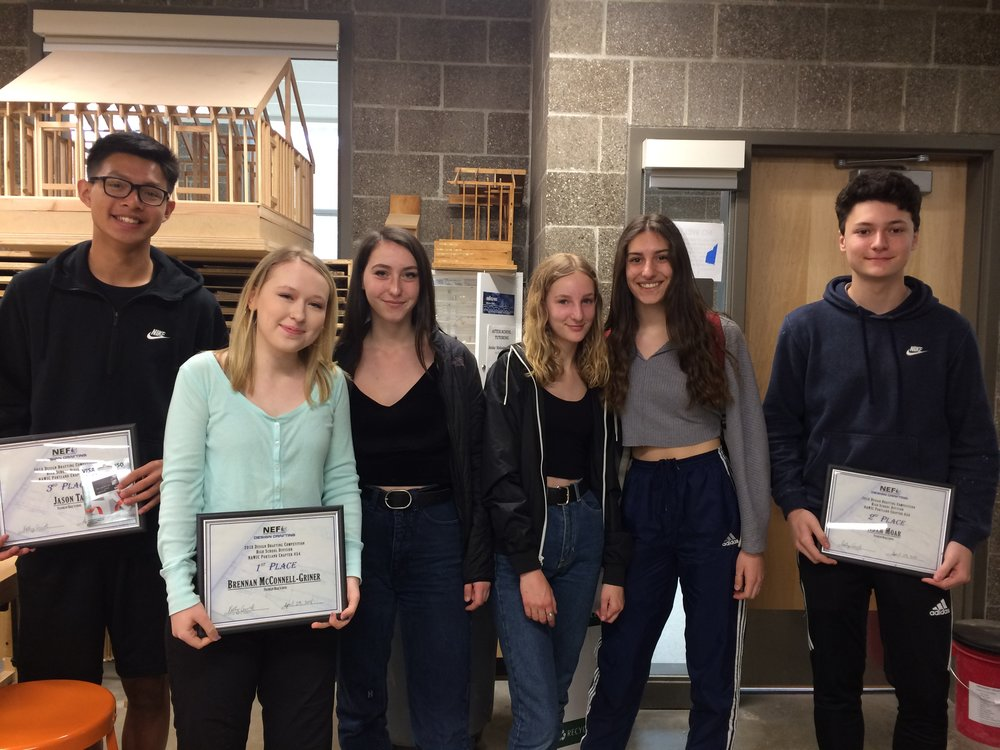 2018 Design Drafting Competition, High School Division - Franklin HS
