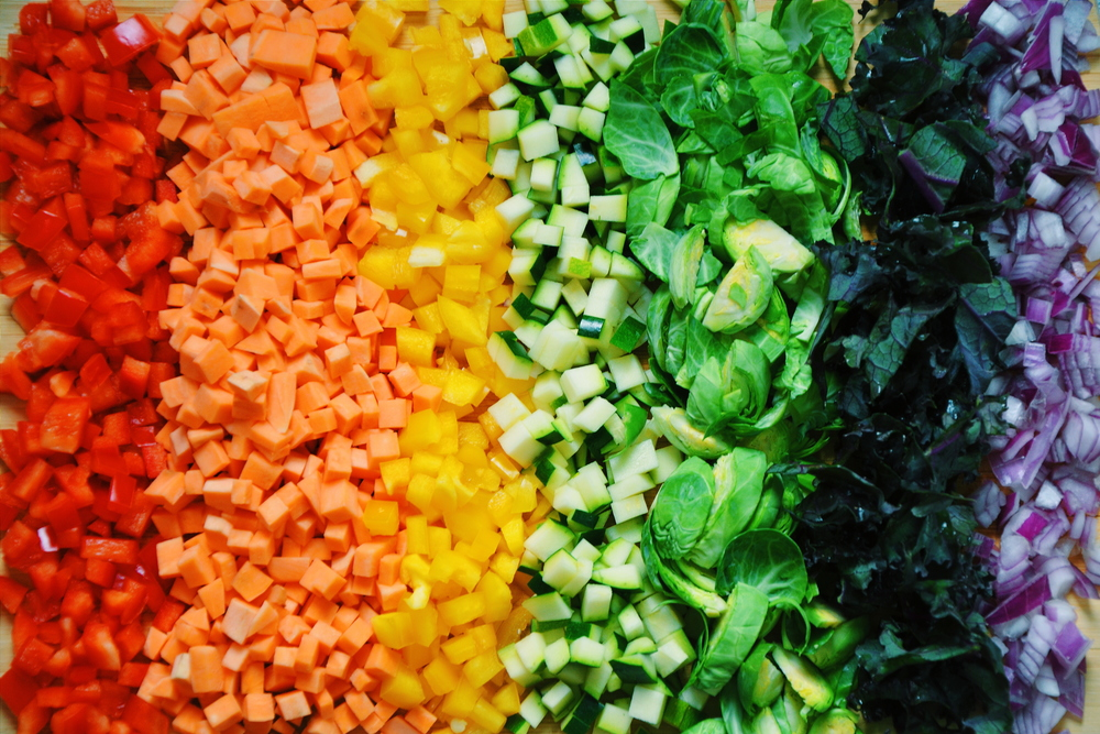 Image result for rainbow vegetables