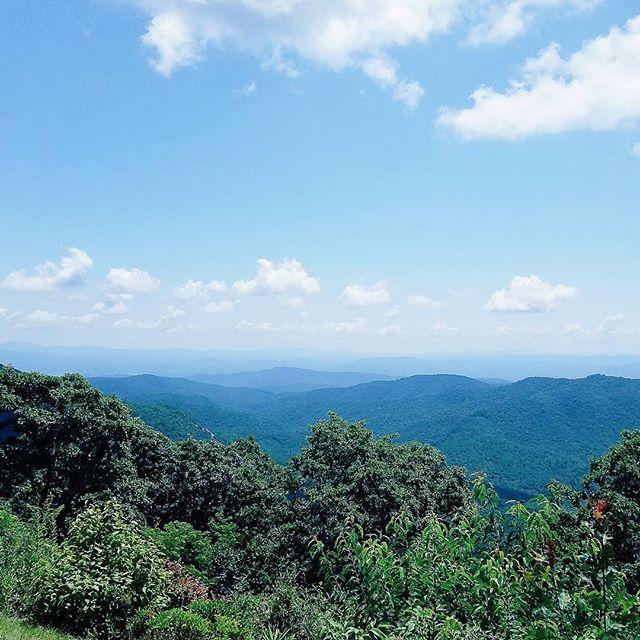 Mountains on mountains.