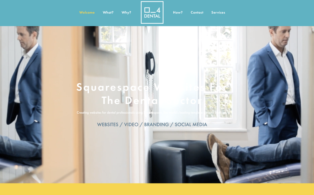 Squarespace for Dental - www.ss4dental.com