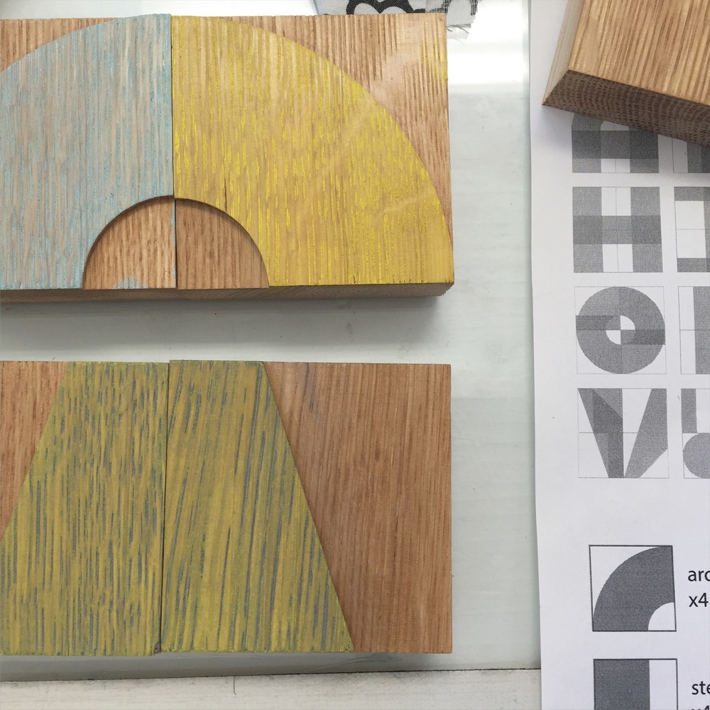 Modular Wood Type : Splits (collaboration with Ashley John Pigford)