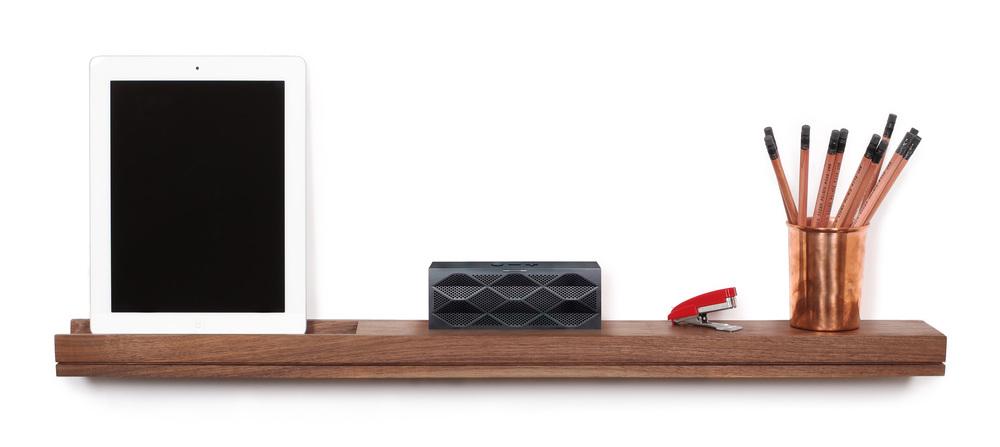 tech enabled office shelf - SINGULAR wall console