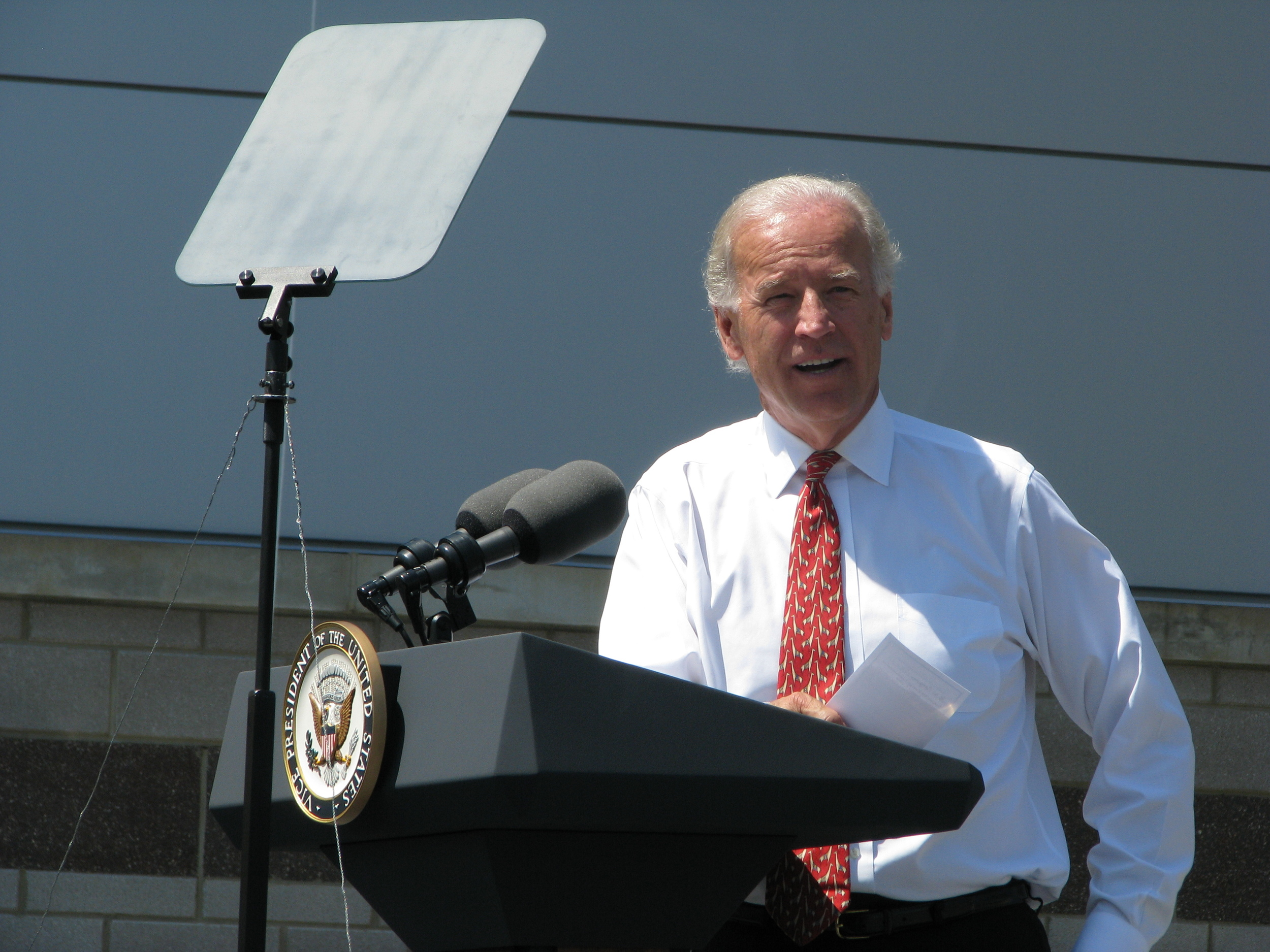 Joe Biden speaks at NextEnergy.