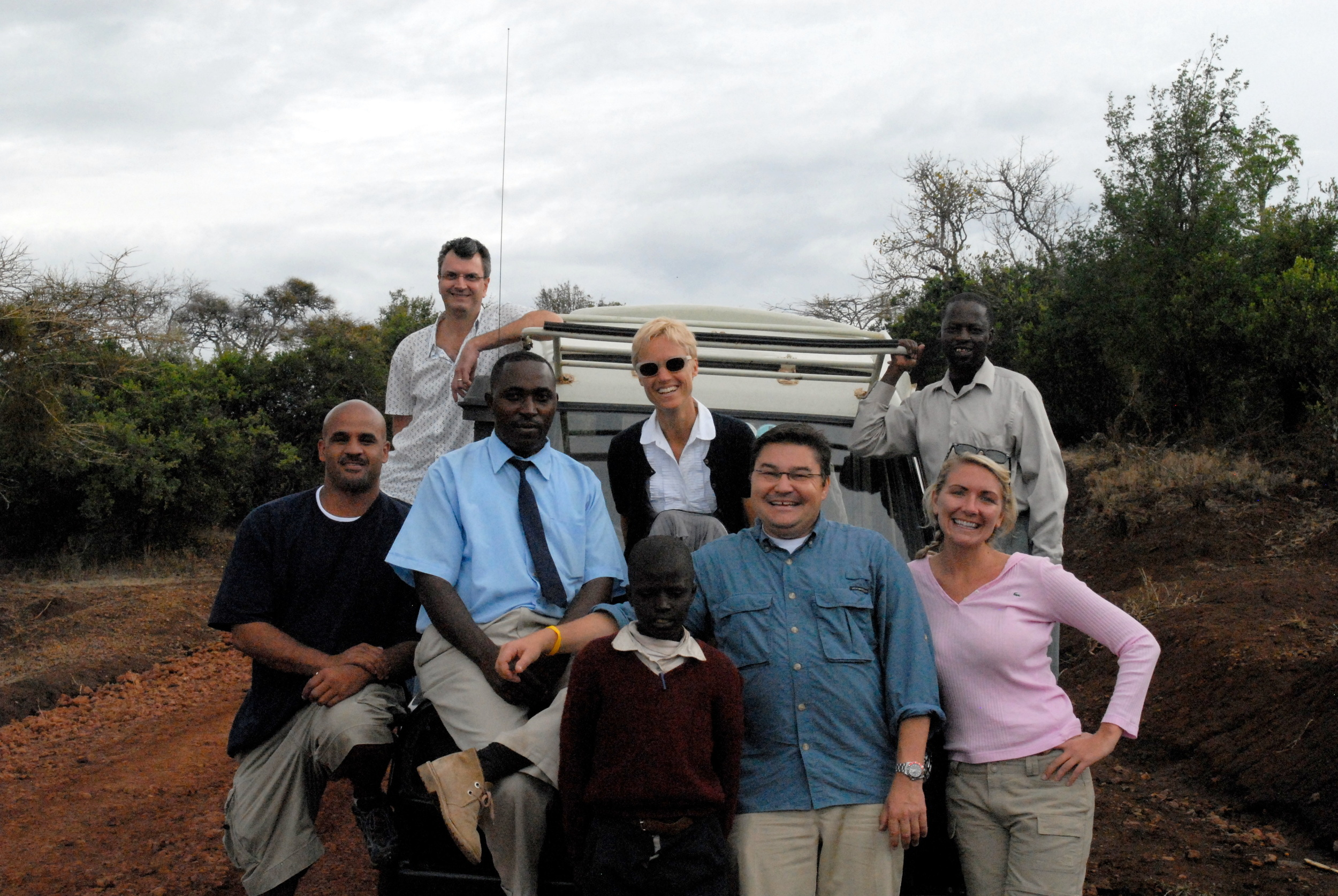 The Nextek Team In Africa.