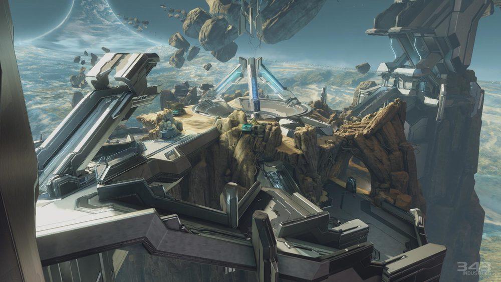 Halo 2 Anniversary Multiplayer mapremake of Ascension - Zenith