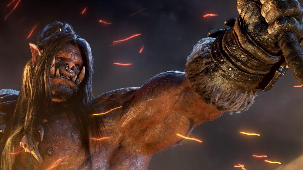 Grommash Hellscream, leader of the Iron Horde