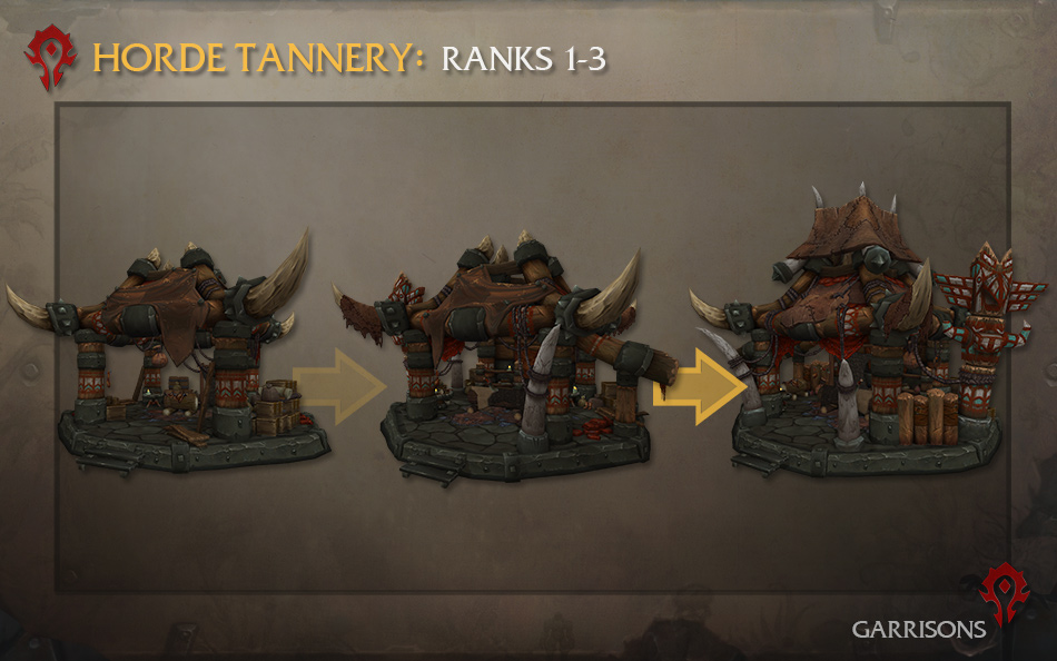 Tannery building for the Horde faction