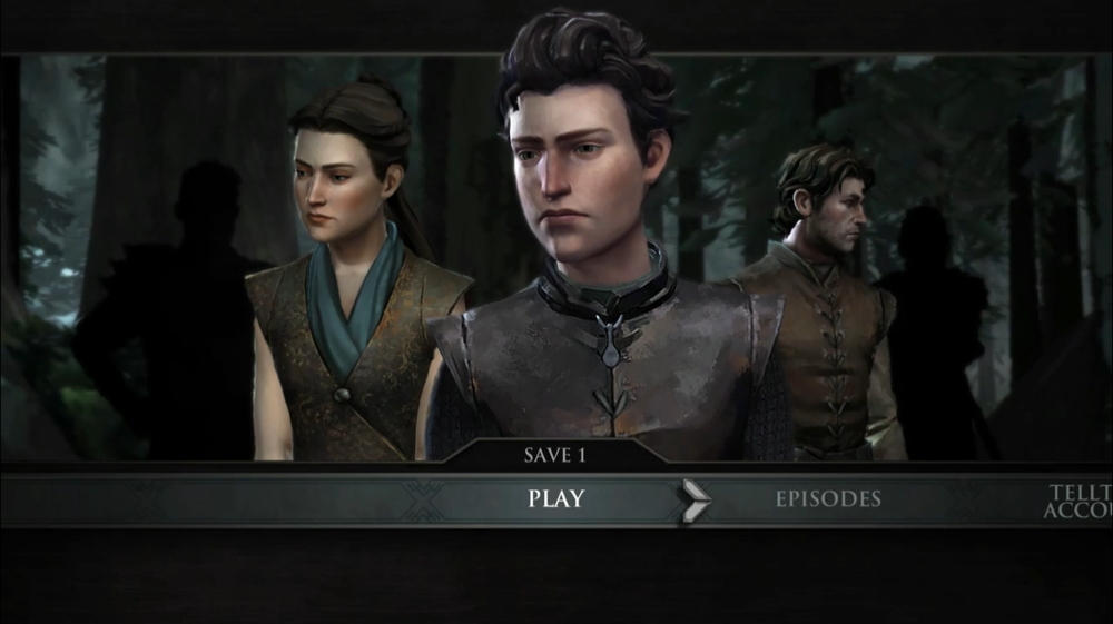 Mira, Ethan, and Gared. The three playable characters of Episode One.