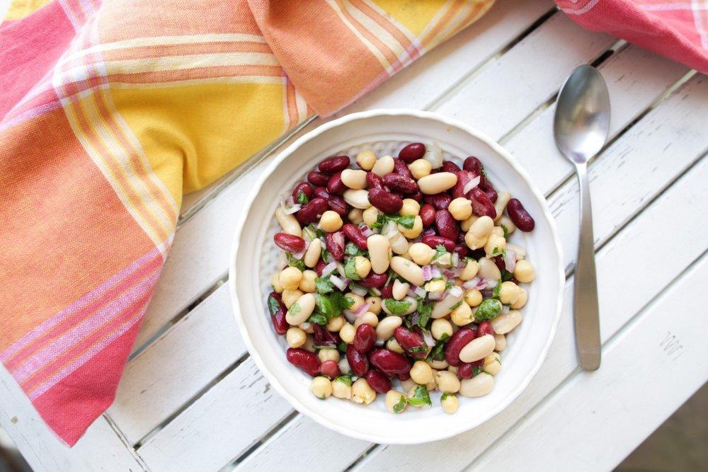Three Bean Salad -