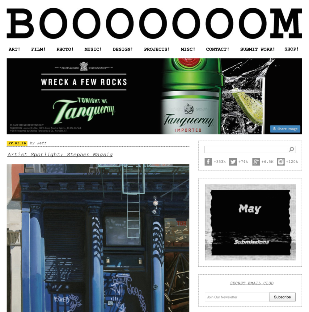Booooooom-homepage