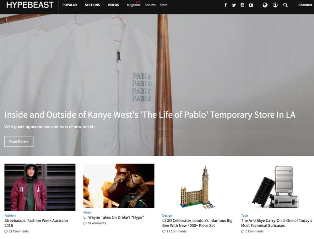 HYPEBEAST-homepage