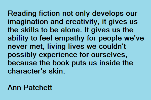 Ann Patchett and empathy