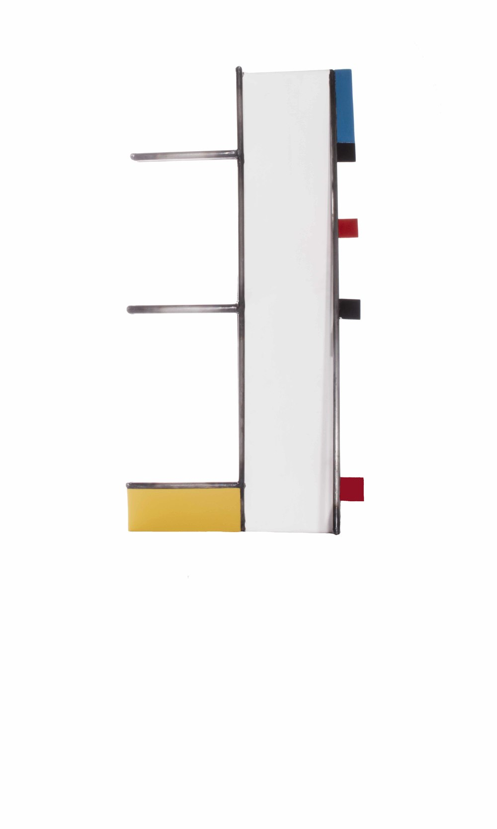 Mondrian Construction #6 (front view)