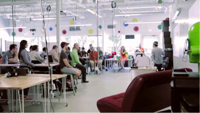 Google's Flexible Workspace