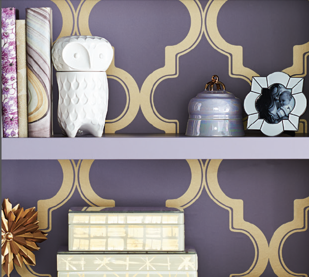 Devine It Yourself at Target - Devine Color Trellis Wallpaper