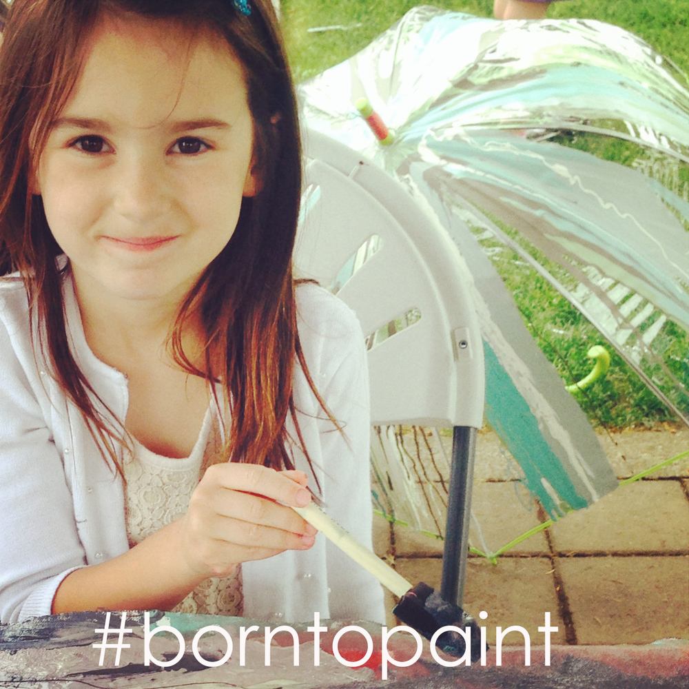 Born to Paint with #devinecolor #impressyourself