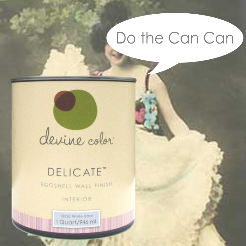 Do the can can #becandid #devinecolor#impressyourself