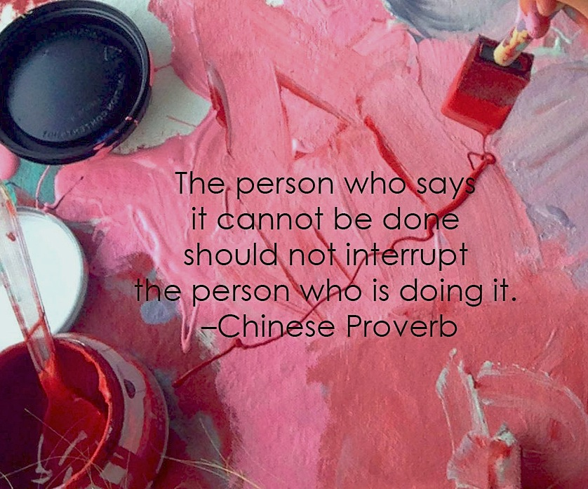 Don't listen to the naysayers #devinecolor #impressyourself
