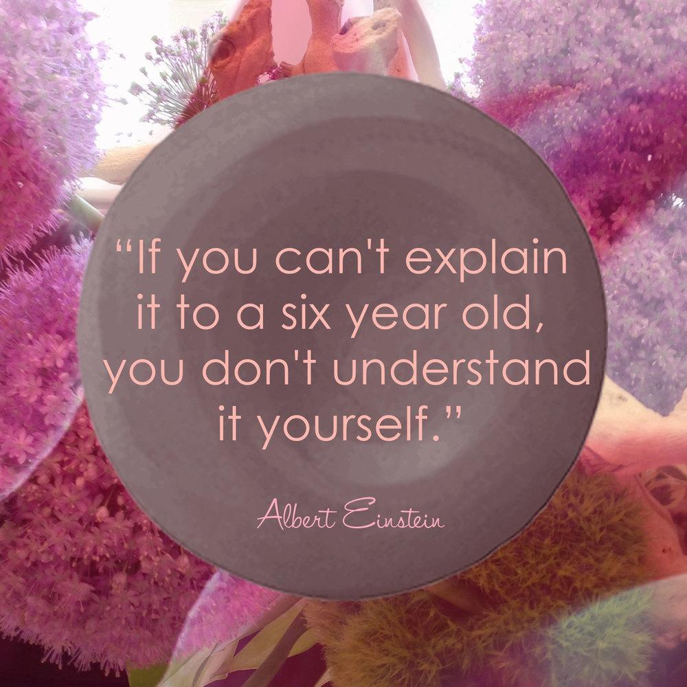 Devine Color Wisdom - Albert Einstein