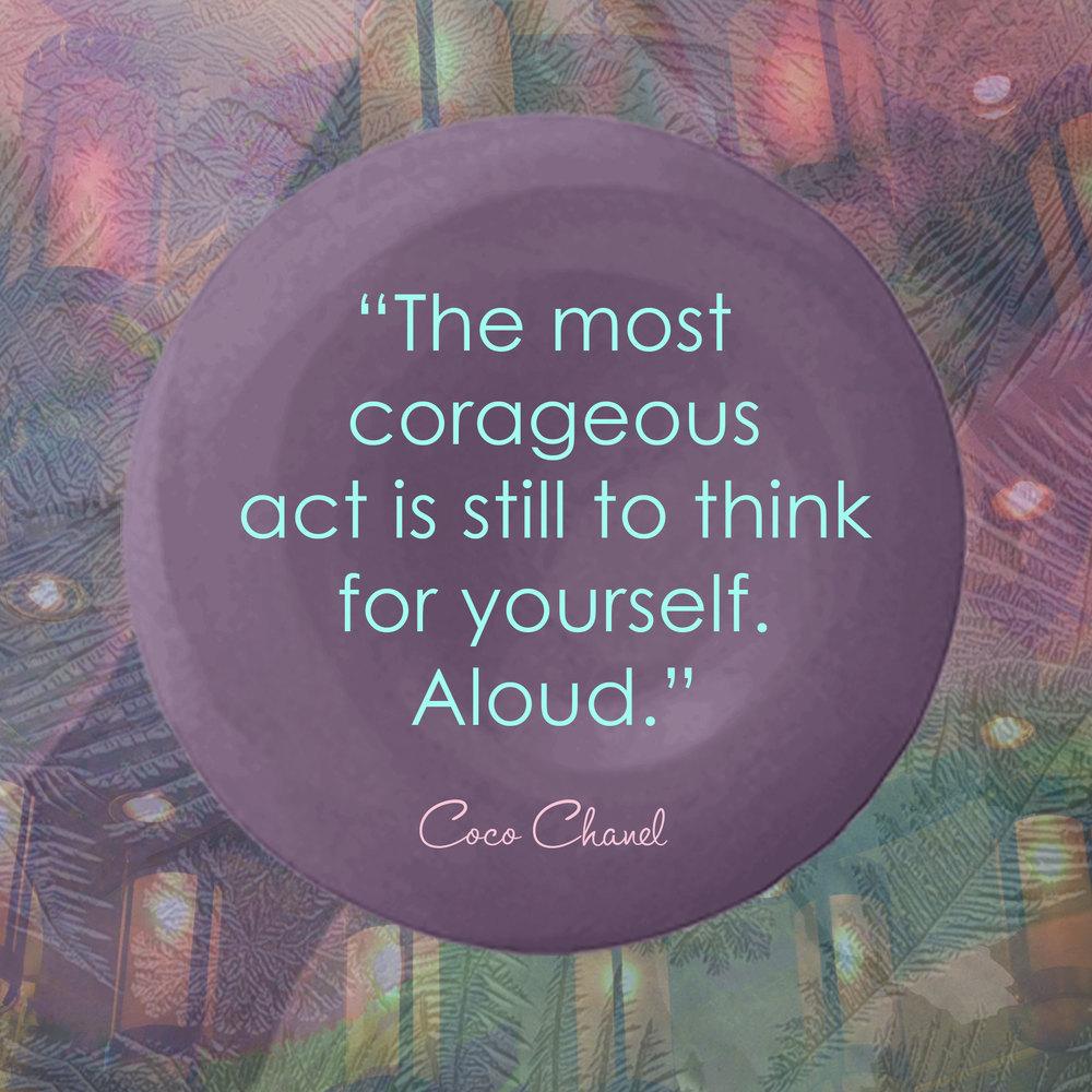 Devine Color Wisdom - Coco Chanel