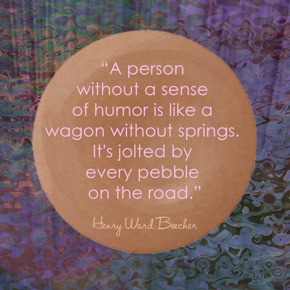 Devine Color Wisdom - Henry Ward Beecher