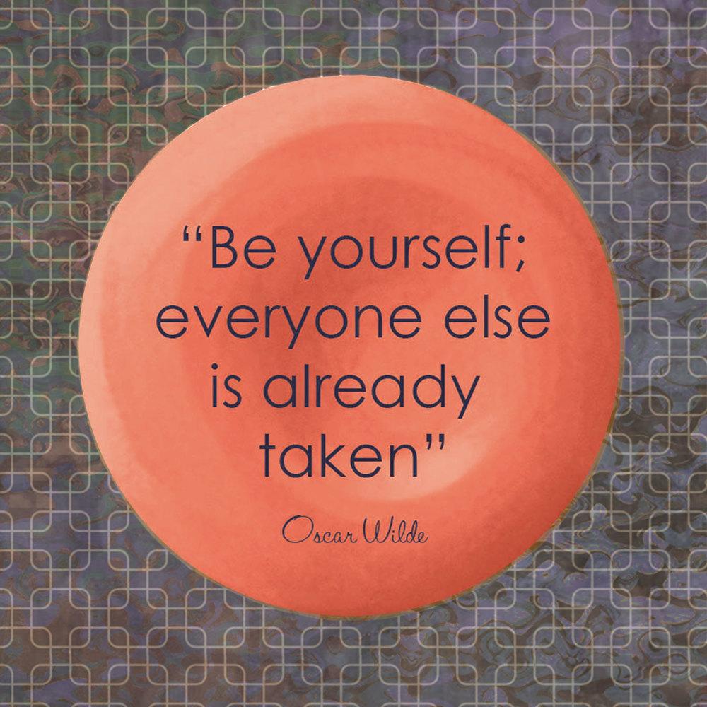 Devine Color Wisdom - Oscar Wilde