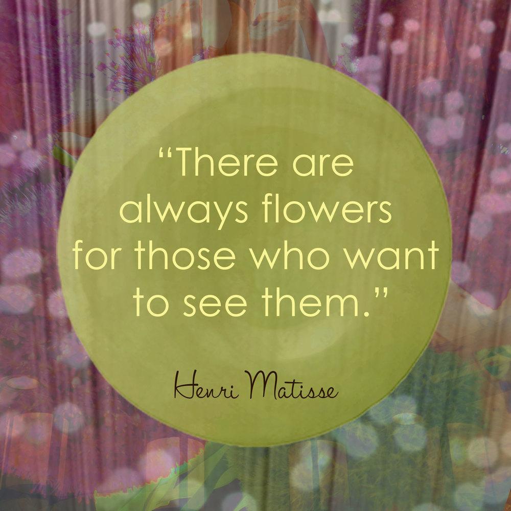 Devine Color Wisdom - Henri Matisse