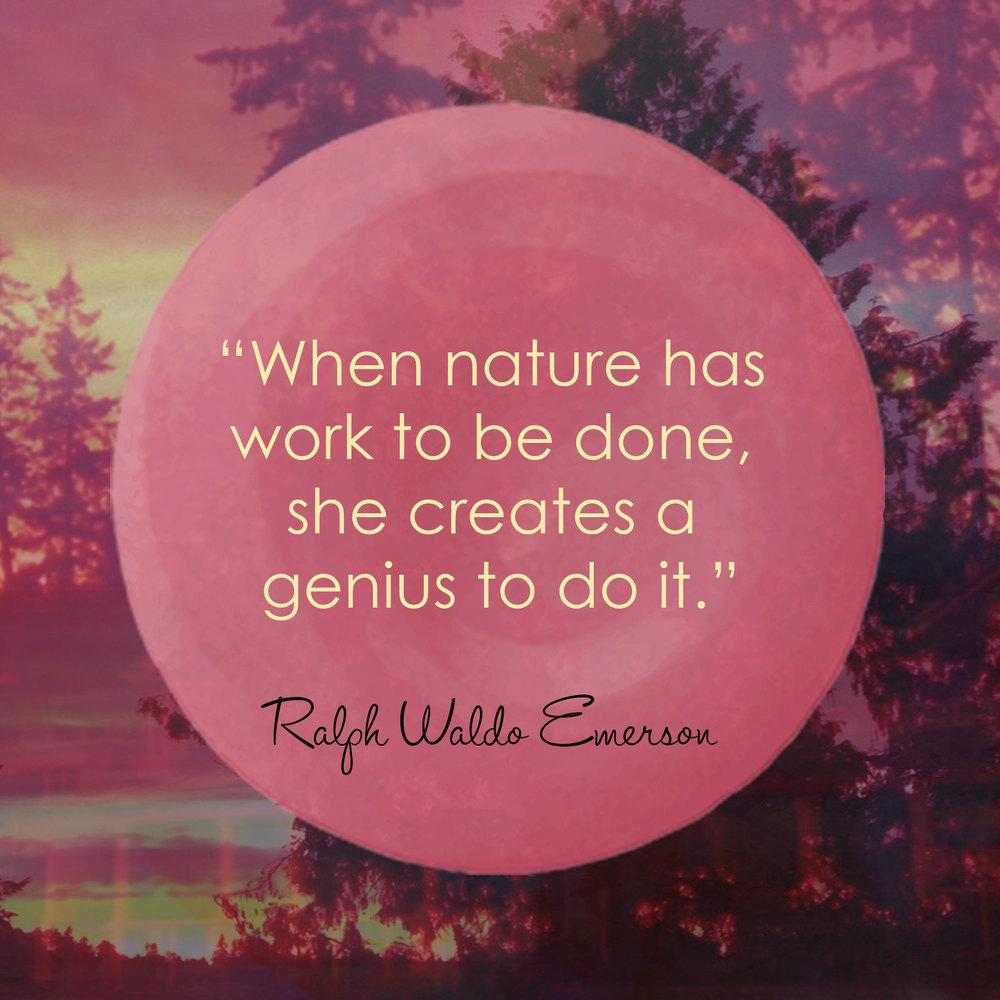 Devine Color Wisdom - Ralph Waldo Emerson
