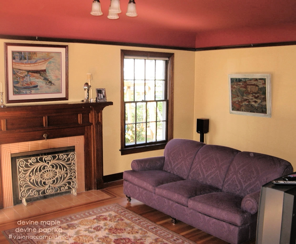 Devine Color Maple and Paprika Paint
