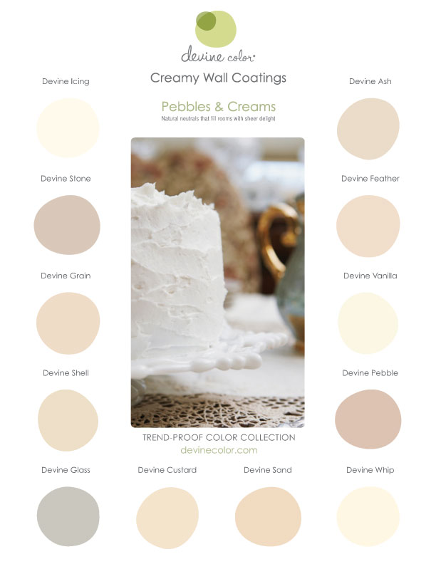 Devine Color Creams & Pebbles Collection