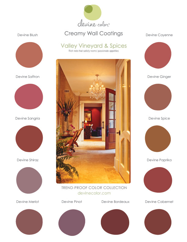 Devine Color Valley Vineyards & Spices Collection