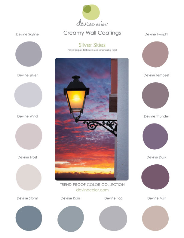 Devine Color Silver Skies Collection