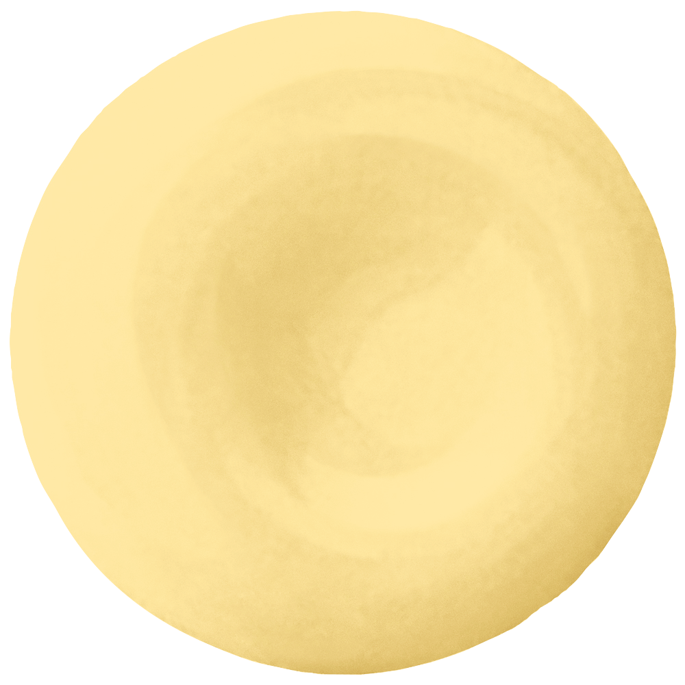 An embracing yellow paint color, Devine Cream is a youthful pigment that lets you drink from the fountain