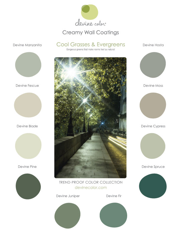 Devine Color Cool Grasses & Evergreens Collection