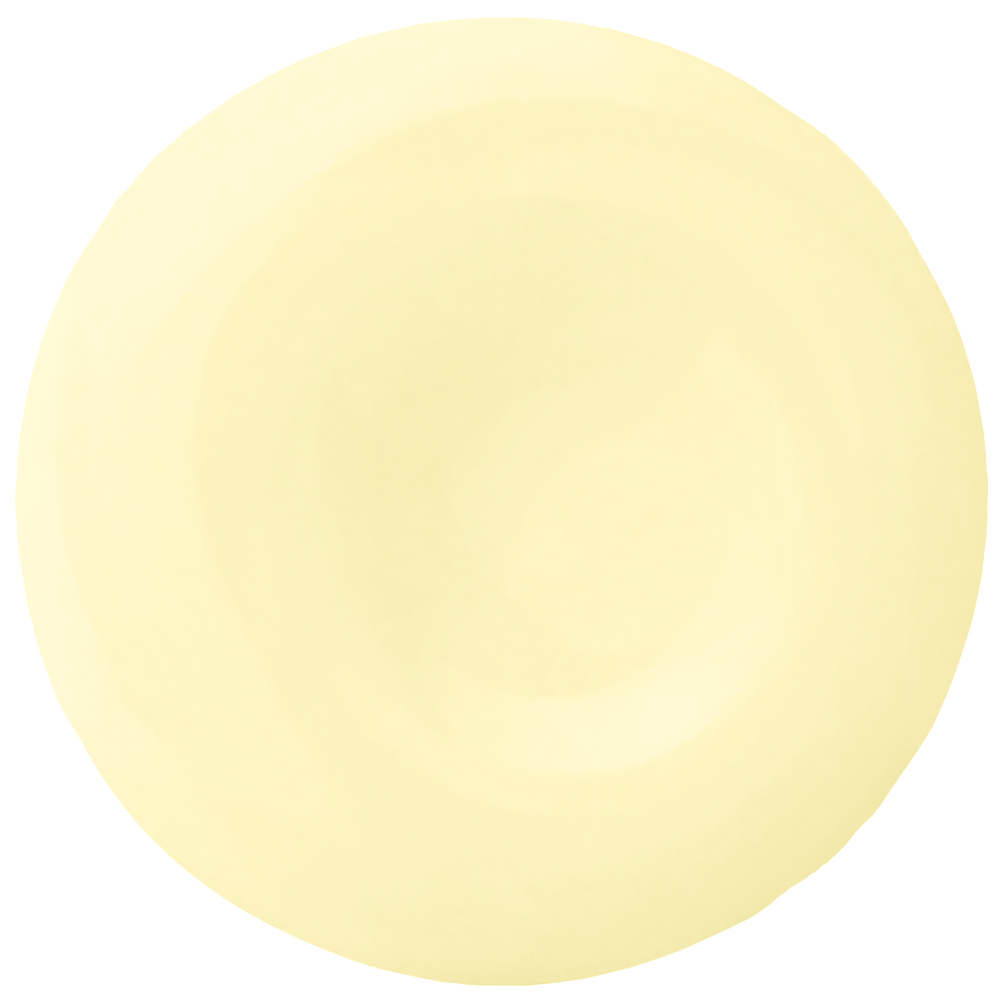 A vibrant yellow paint color, Devine Orchid is asoft pigment that shoots rays of sunshine.
