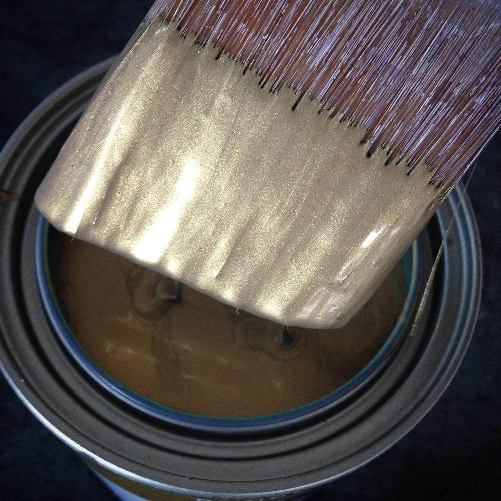 Devine Color Gold Metallic Paint