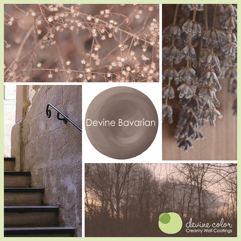 Devine Bavarian is a perfectly handcrafted rich purple neutral wall color. Part of Devine Color Espresso Blends paint color collection.
