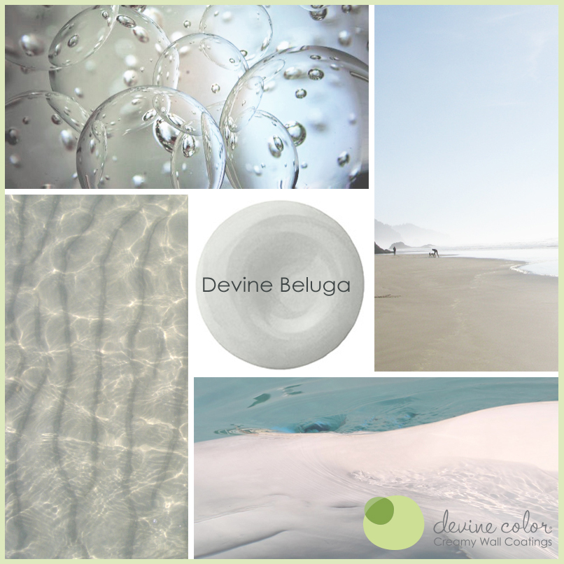 Devine Beluga is a perfectly handcrafted fresh blue gray | grey wall color. Part of Devine Color Wild at Heart paint color collection.
